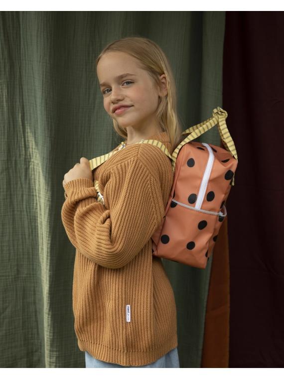 Sticky Lemon täpiline seljakott laste kott koolikott tüdrukute poiste stiilne moodne