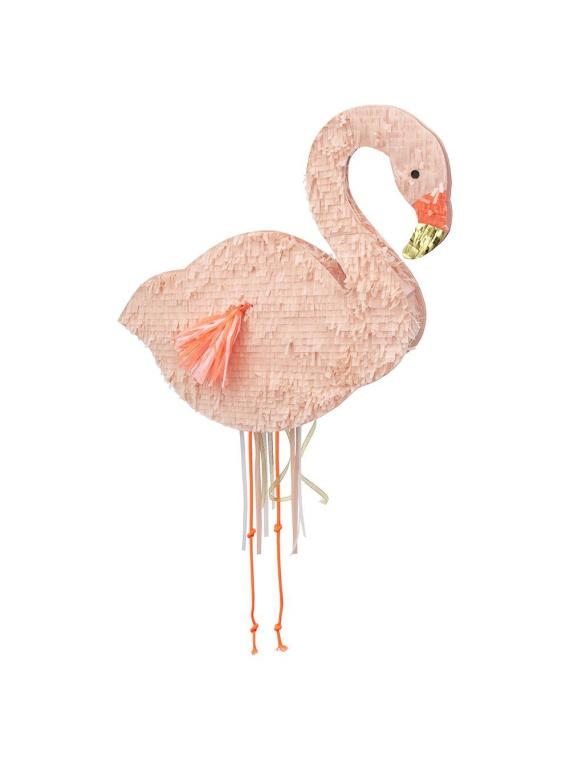 Merimeri flamingo pinata roosa sünnipäev aksessuaar kaunistus pidu