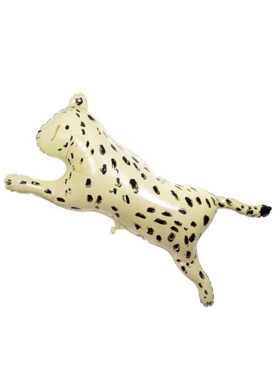 Merimeri gepard safari õhupall foolium sünnipäev kaunistus aksessuaar