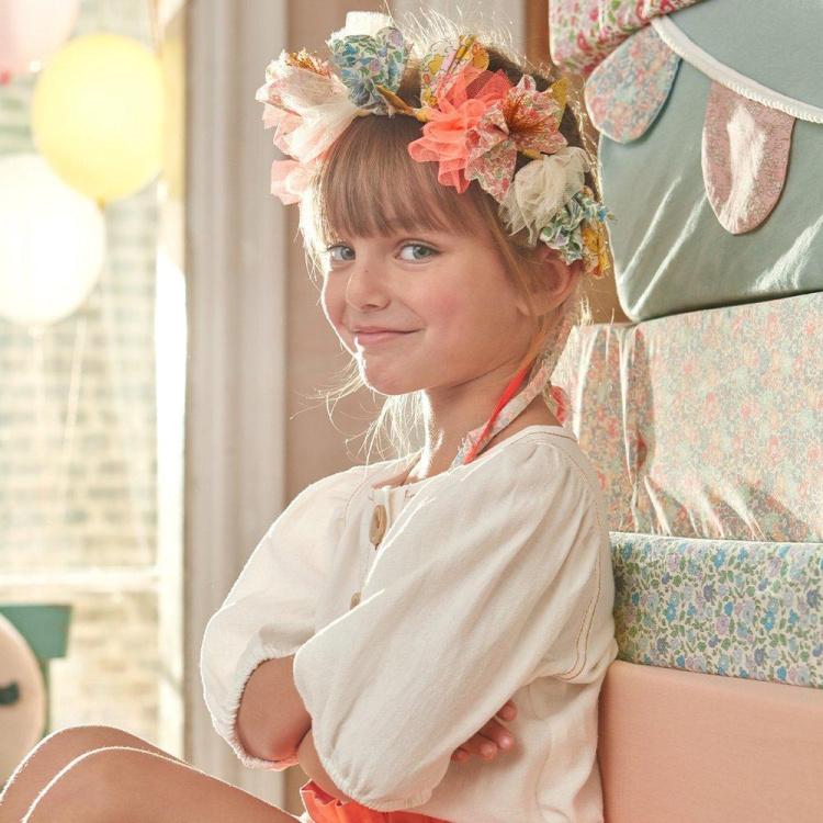 Merimeri lilleline peakate kroon pärg tüdrukute aksessuaar peavõru ehe