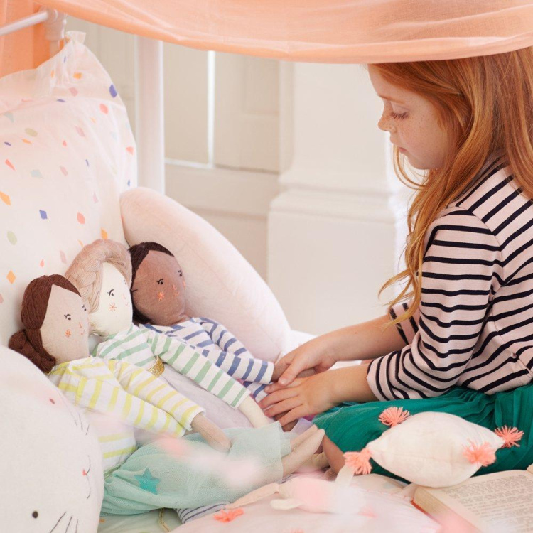 MeriMeri Meri Meri riidest nukk merimeri nukk kaltsunukk klassikaline tüdrukute mänguasi balletiseelik mänguasi lõngast juuksed