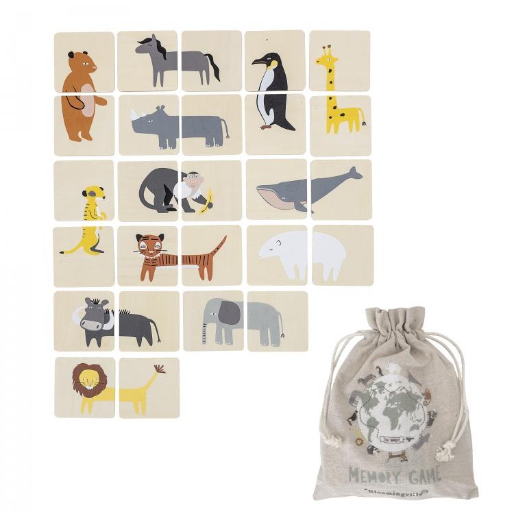 bloomingville mälumäng puidust mänguasi väikelaste skandinaavia disain klotsid