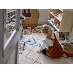 bloomingville puidust nukumaja barbie vineerist tüdrukute mänguasi riiul skandinaavia disain