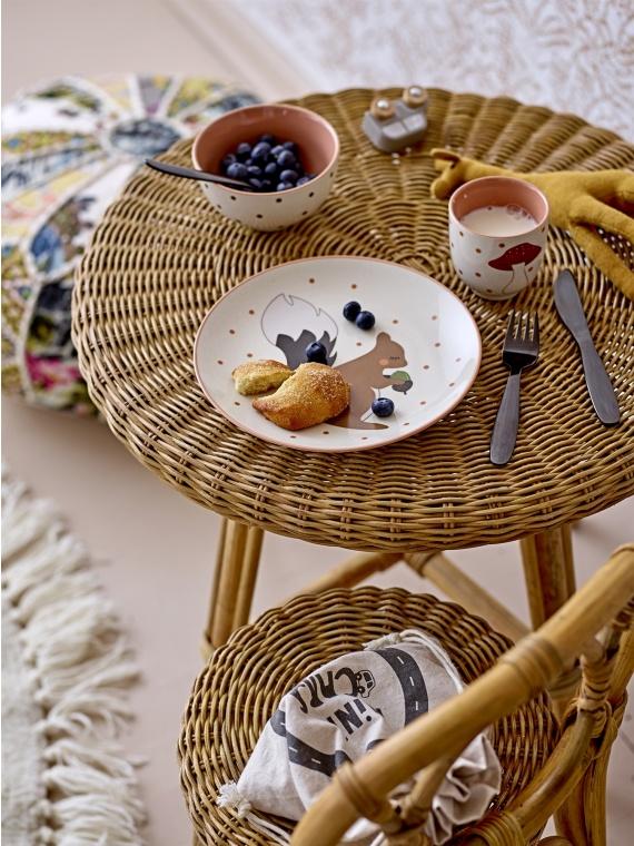 bloomingville rotang laud lastelaud punutud sisustus skandinaavia disain