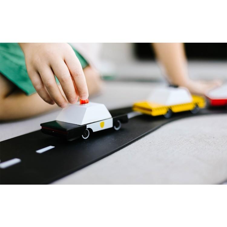 candylab politsei politseiauto mänguauto mudelauto puidust auto poiste mänguasi
