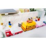 candylab hot dog mänguauto mudelauto furgoon puidust auto poiste mänguasi