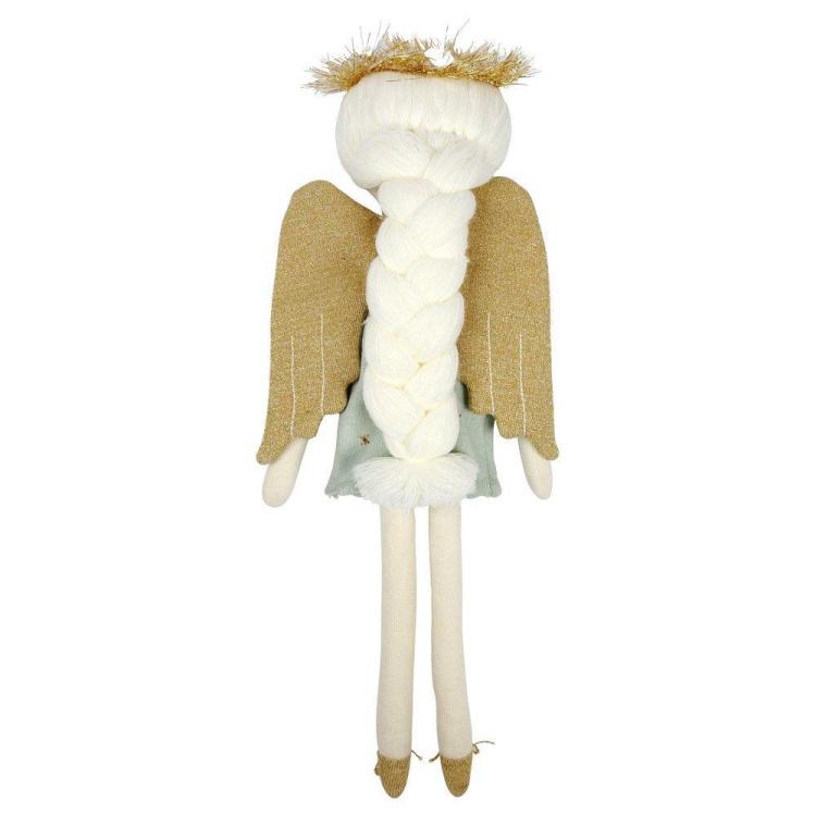 Merimeri nukk ingel kaltsunukk tüdrukute mänguasi lõngast juuksed Jõulud