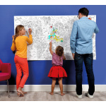 OMY poster seina maailm maailmakaart atlas plakat aksessuaar värvitav laste lastetoa värvimine looming