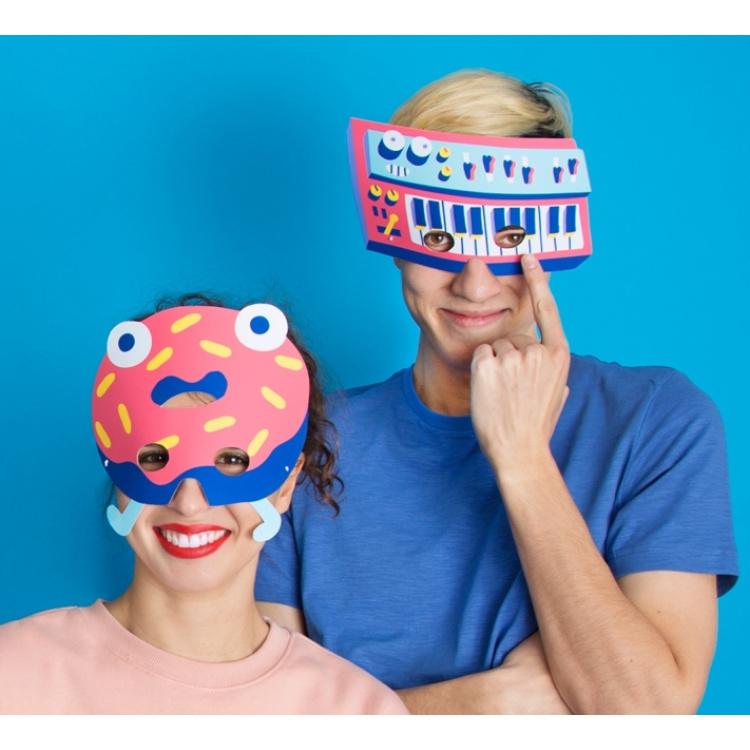 Omy peomask mask pidu aksessuaar sünnipäev