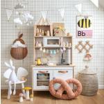 mesimumm mesilane poster maal seinapilt lastetuba lastetoa sisustus aksessuaar laste seinakaunistus