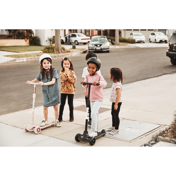 Birdie tõukeratas laste micro roosa valge must poiste tüdrukute ratas stiilne kolmerattaline