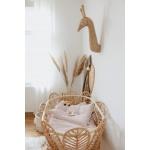 Heybaby häll rotang punutud beebi voodi häll boho võrevoodi korvmööbel