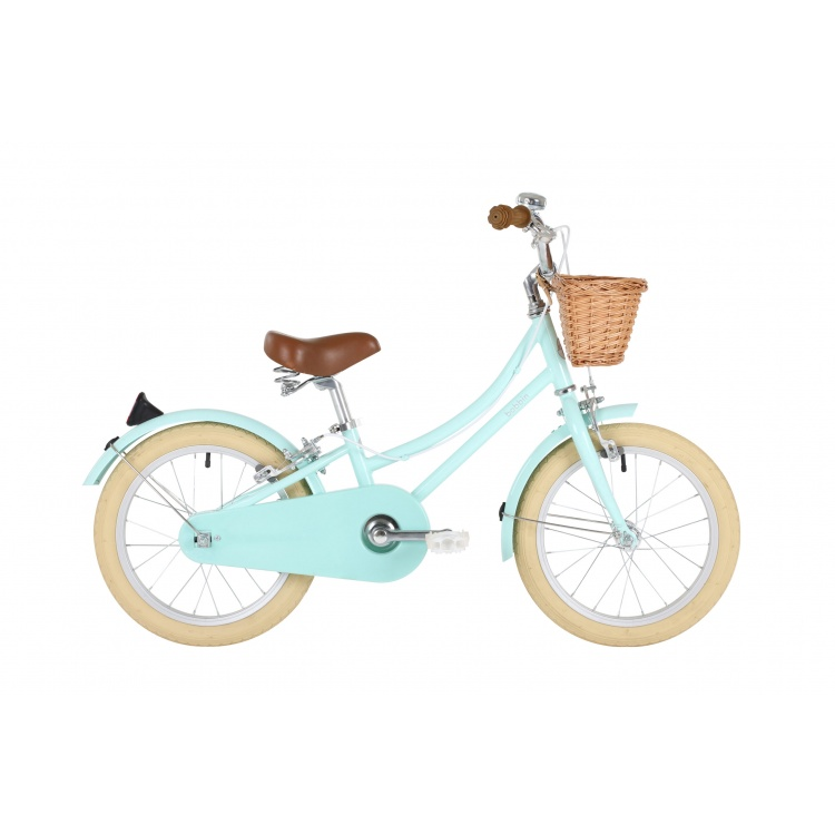 Bobbin Banwood ratas jalgratas laste ratas laste jalgratas esimene stiilne korviga väikelaste roheline sinine poiste tüdrukute 16 tolli