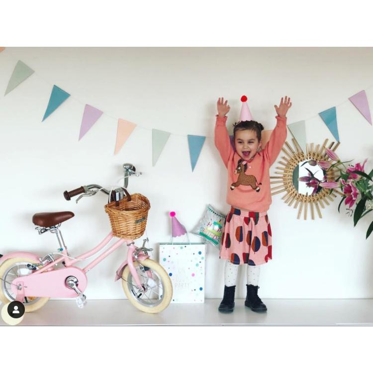 Bobbin Banwood ratas jalgratas lasteratas lastejalgratas esimene stiilne korviga väikelaste roosa kollane münt sinine poiste tüdrukute 12 tolli
