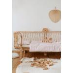 Heybaby lastevoodi tüdrukute rotang punutud laste boho voodi korvmööbel