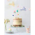 Merimeri koogikaunistus jänes jänku tordikaunistus pidu sünnipäev aksessuaar