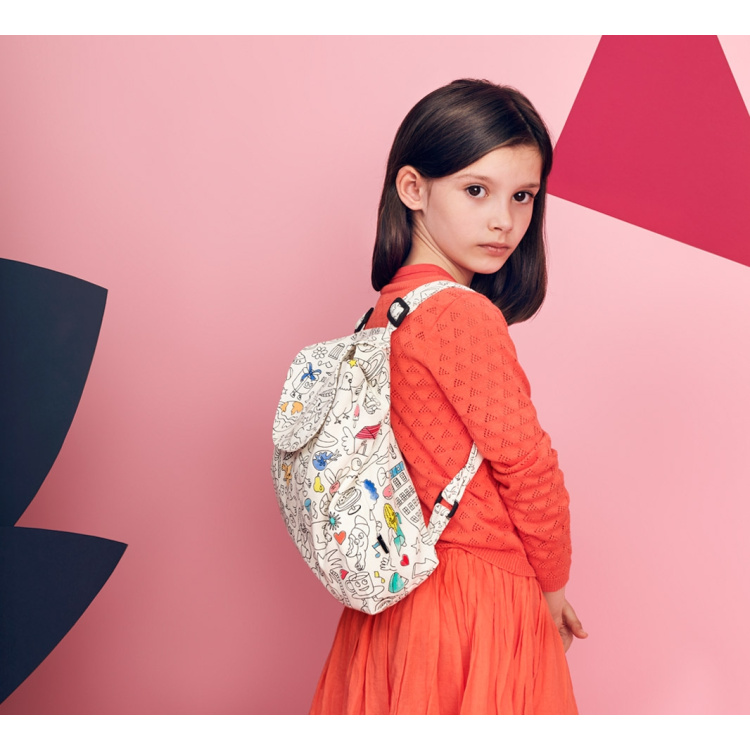 Omy seljakott laste kott värvitav kingitus kingiidee