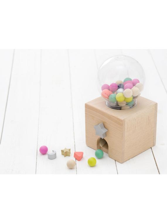 kiko+ & gg* bingo laste mäng lauamäng puidust numbrid arvutamine matemaatika mänguasi