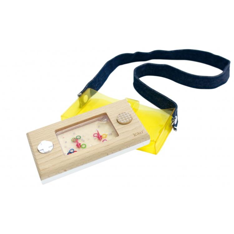 kiko+ & gg* puidust laste mänguasi mängukonsool veemäng retro kingiidee kingitus