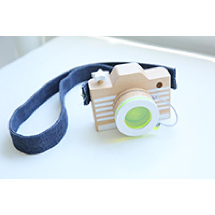 kiko+ & gg* kaamera laste fotoaparaat mänguasi kingitus kingiidee puidust