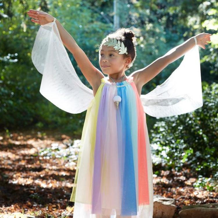 Laste kostüüm tüllkleit tüllseelik printsess haldjas kostüümipidu tüllkangas tüdruk