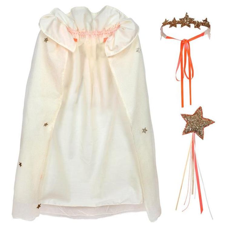 Laste kostüüm printsess haldjas keep halloween merimeri sädelev kostüümipidu