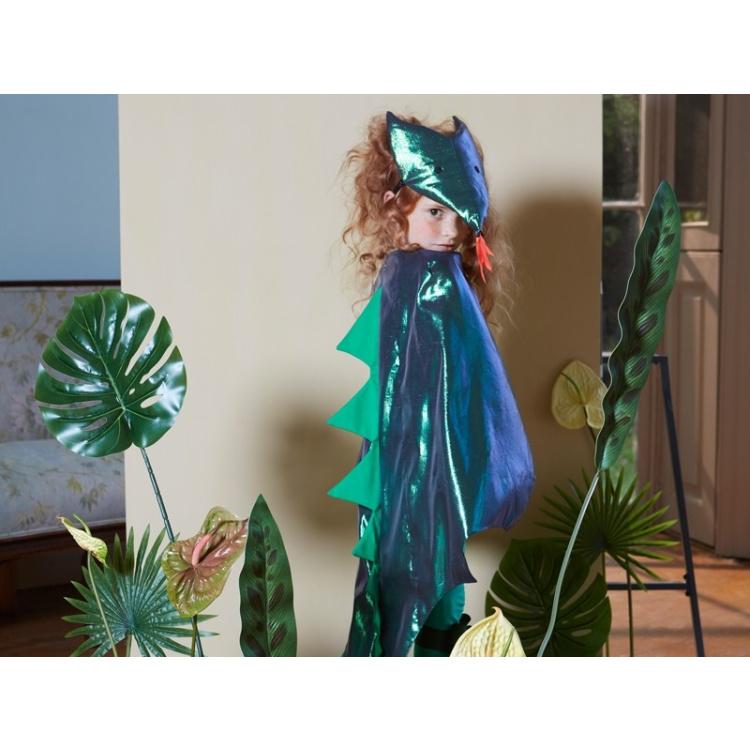 Merimeri kostüüm draakon lohe halloween kostüümipidu poiste