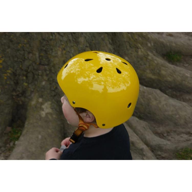 Bobbin laste jalgratas kiiver jalgrattakiiver roosa pastelne kollane retro