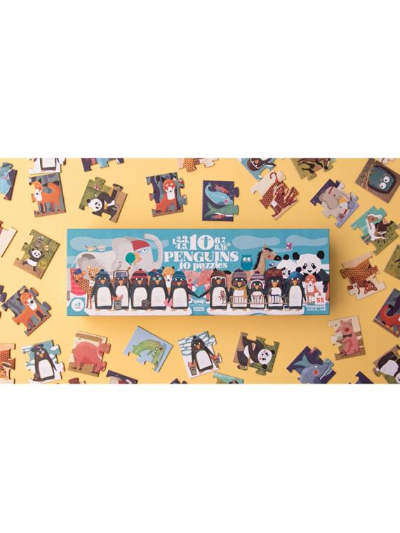 pusle laste numbrite õppimine puzzle väikelaste taaskasutatud arendav mänguasi sünnipäeva kingitus kingiidee