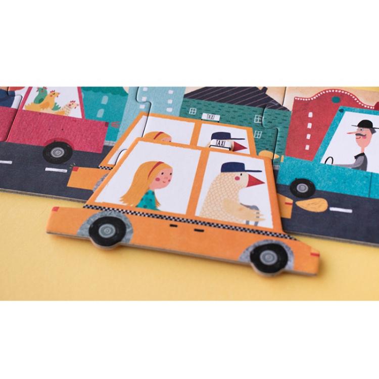 pusle puzzle laste poiste mänguasi arendav kingitus kingiidee jätkusuutlik taaskasutatud