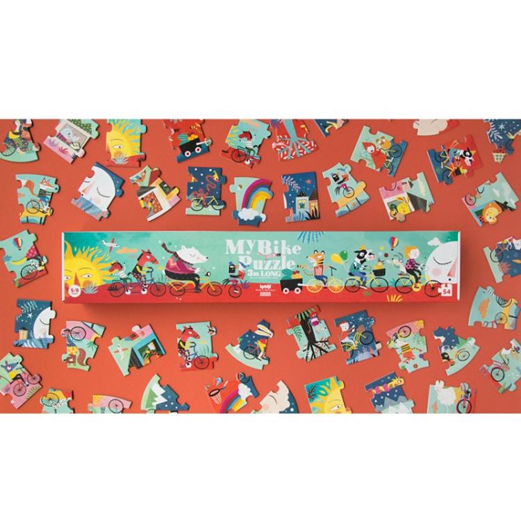 pusle puzzle laste pikk arendav mänguasi kingitus kingiidee