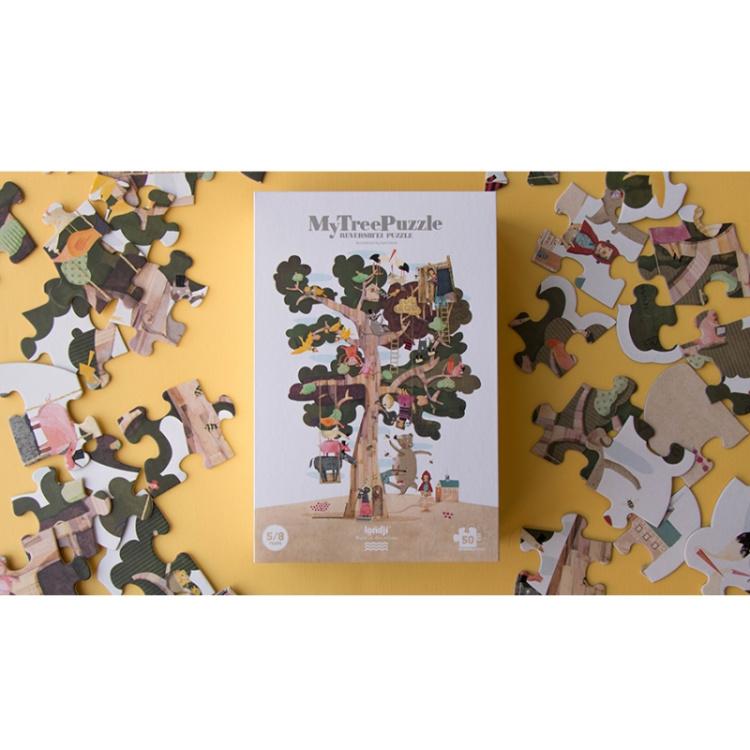 pusle taaskasutatud paber puzzle laste kingiidee arendab mänguasi kingitus