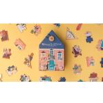 pusle laste arendav puzzle maja kodu kingitus kingiidee 36 tükki