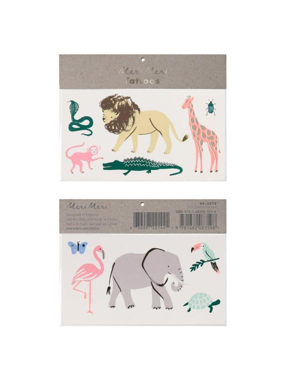 tötoveering laste ajutine loomad merimeri sünnipäev tattoo tatoveering