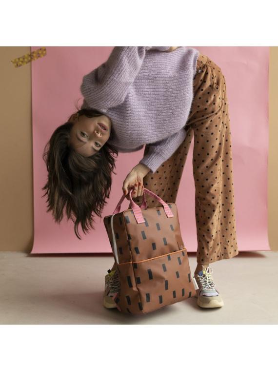 seljakott koolikott tüdrukute poiste laste kott stiilne kool roosa sticky lemon